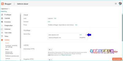 Cara melepas custom domain blogspot tanpa mempengaruhi trafik