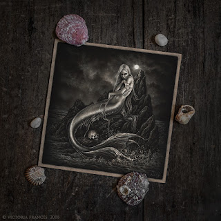 The Pale Mermaid, Illustration by Victoria Francés 2018