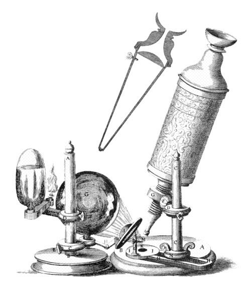 Old writer on the block: Making your own microscope