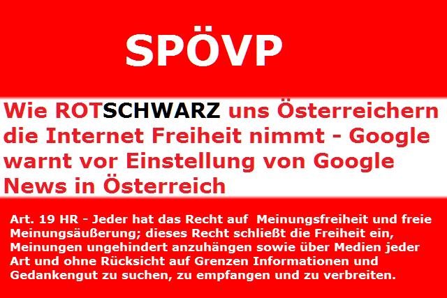 527b3355dce9e8 Google warnt vor Einstellung von Google News in Österreich - gibt auch kein  Google Street view