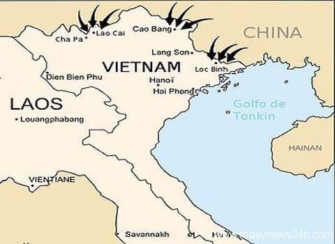 Vietnam China Border clashes