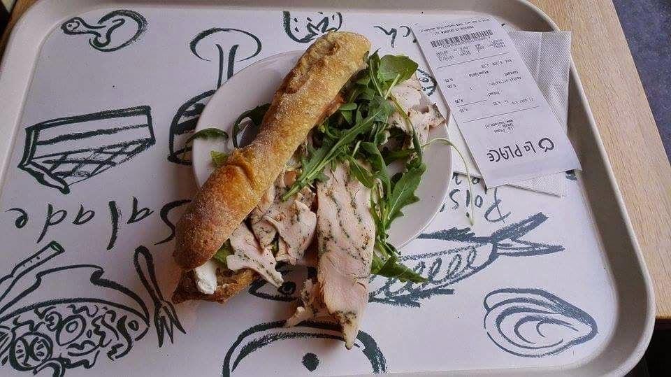 restaurace La Place v Goudě