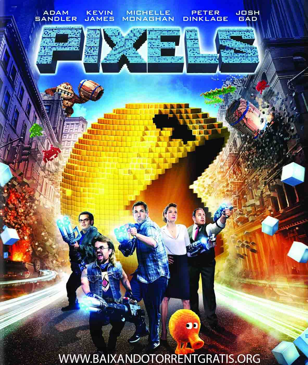 Pixels Torrent – BluRay 720p/1080p Dual Áudio