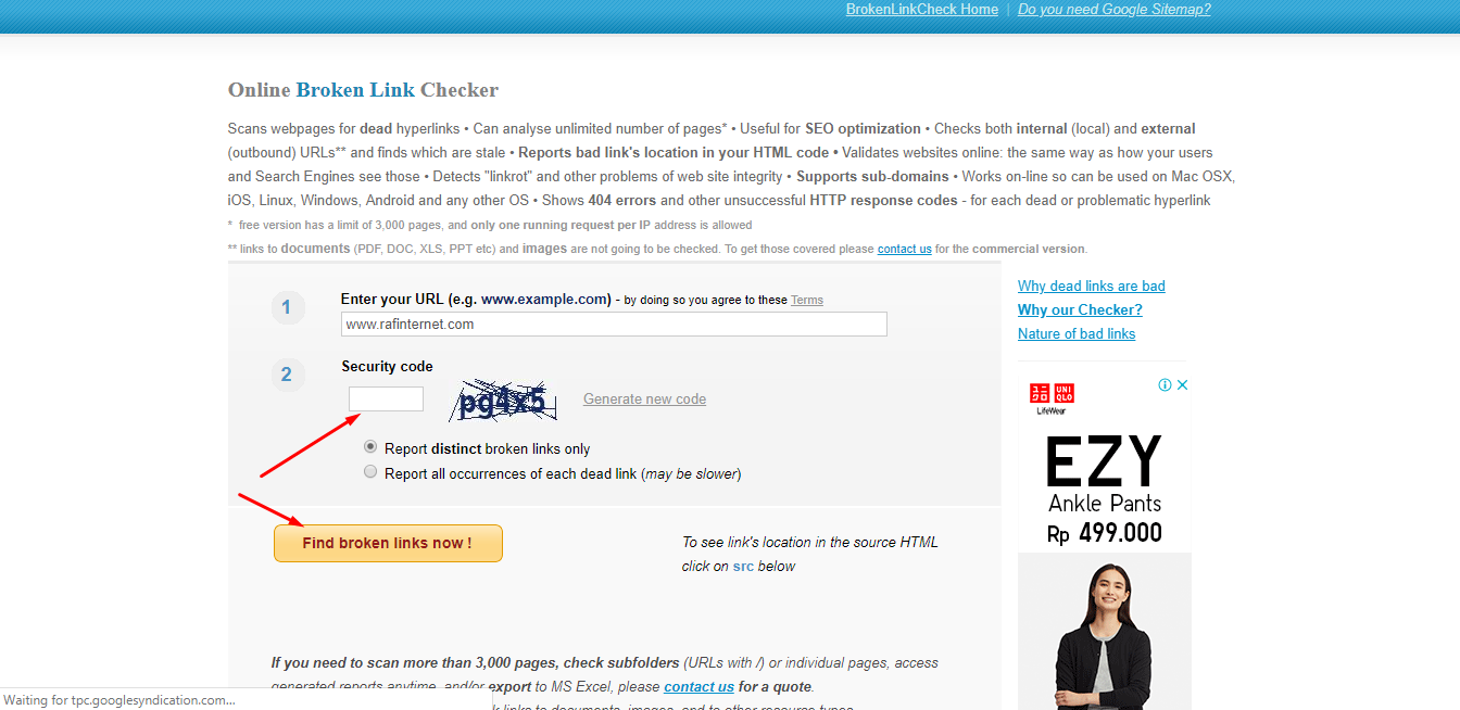 cara cek broken link di blog yang tidak aktif, url mati dan cara mengatasinya
