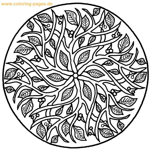 Coloring Pages Mandala Coloring Page Flower Mandala Coloring Pages