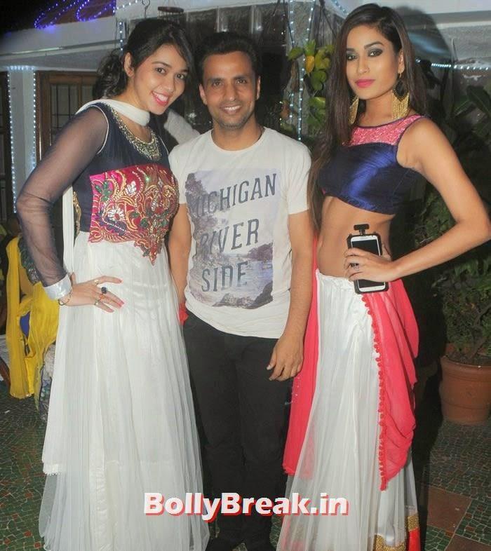 Rajiv Thakur, Priyanka Kotak, Hot Photos from Rowdy Bangalore Team of Box cricket League