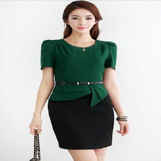 foto model baju dress korea