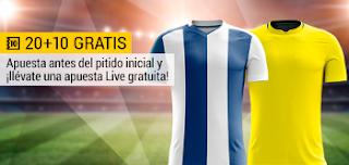 bwin promocion 10 euros Deportivo vs Las Palmas 26 octubre