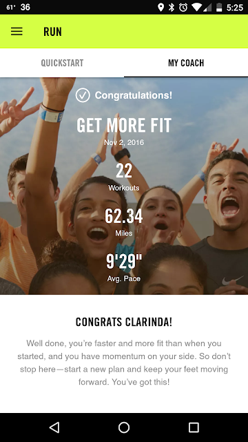 Get More Fit Nike+ training program