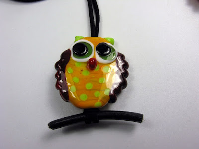handmade Glass Owl