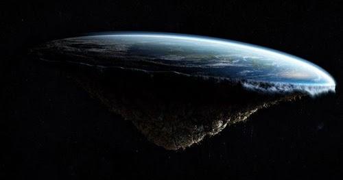 Gambar Bumi Datar