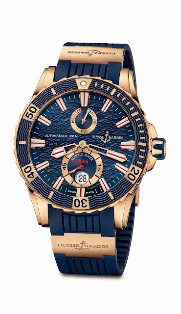 Marine Diver Gold de Ulysse Nardin2