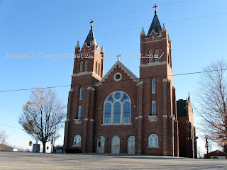 A Catholic Cathedral in mid-Missouri
