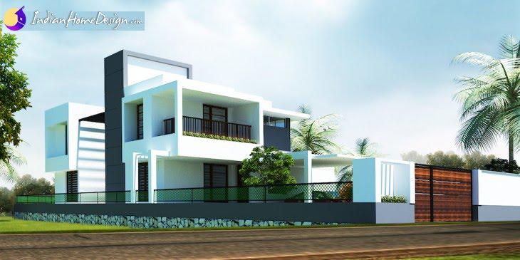 4000 sq ft Modern Home Design at Kuttanadu by Outlier