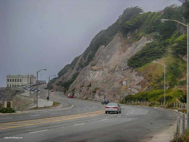 California landslide flood geology travel trip Eel River San Francisco coast Palos Verdes San Andreas copyright RocDocTravel.com