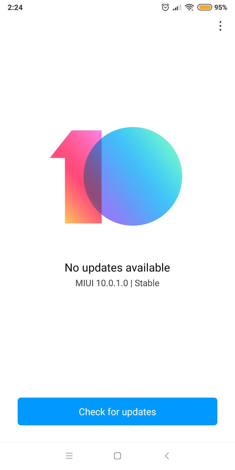 miui 10 download for redmi note 5 ai