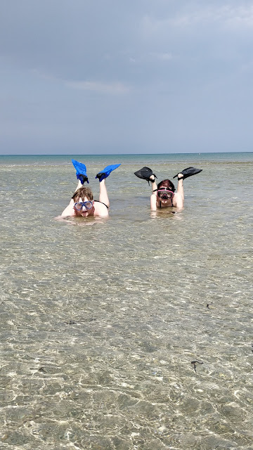 Snorkelling at Ladies Mile Beach, Limmasol, Cyprus #simplysnorkelling