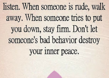 Quotes Do Not Let The Behavior Of Others Destroy Your Inner Peace