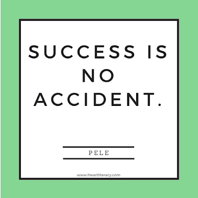 Success is no accident.