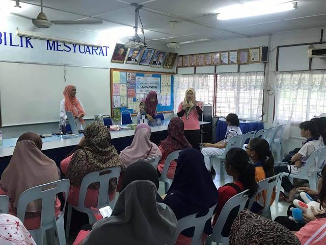 Kelas mekap percuma Nieve Beauty di SMJK Yoke Chuan Selangor