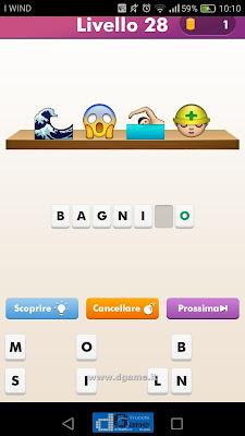 Emoji Quiz soluzione livello 28