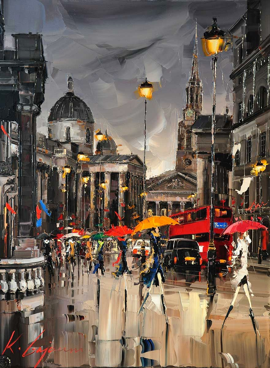 07-National-Gallery-London-Kal-Gajoum-Paintings-of-Dream-Like Cities-of-the-World-www-designstack-co
