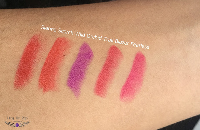 Kleancolor Madly Matte Lipsticks Review Shades Swatches