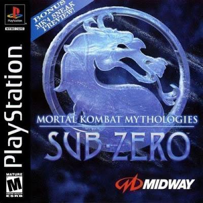descargar mortal kombat mythologies sub-zero psx mega