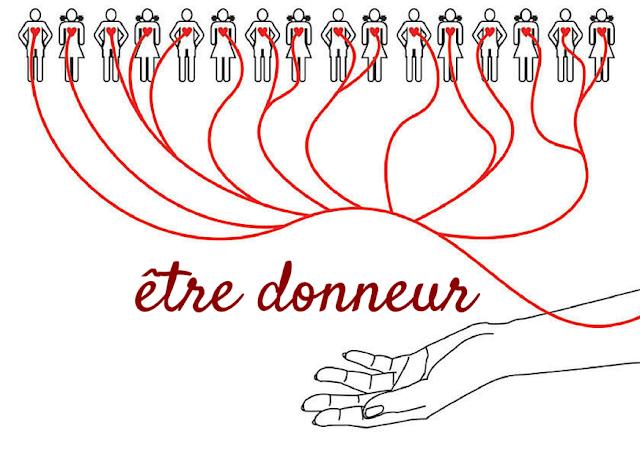 Słówko na niedzielę: être donneur - być dawcą
