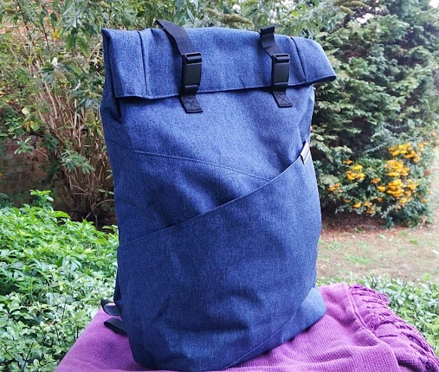 Bagsmart Denim Sheet Curlicue Superlative Laptop Backpack