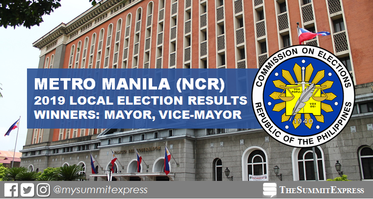 WINNERS: Metro Manila (NCR) Election 2019 Comelec results