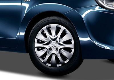 Maruti Suzuki Baleno front wheel Image