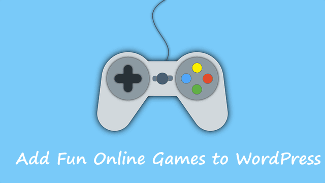 Add games into your WordPress site
