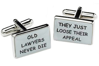 Funny Joke Old lawyers never die.  They just lose their appeal