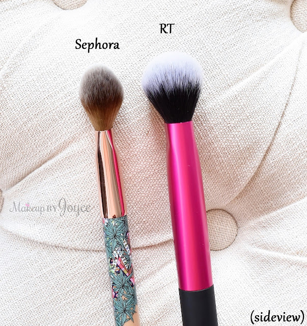Sephora Mara Hoffman Real Techniques Cheek Brush Dupe