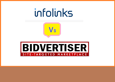 Bidvertiser, Infolinks, ads network