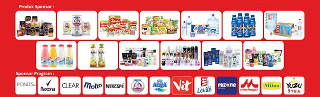 produk sponsor Serunya Mudik Alfamidi 2018