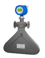 Triangle Shaped Coriolis Flow Meter