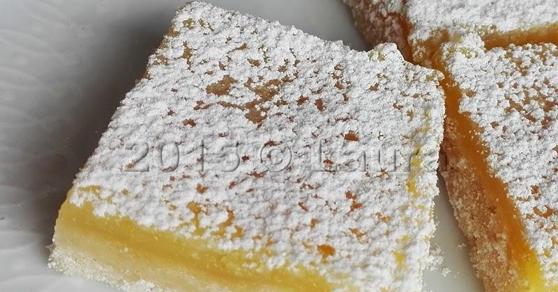 Dolcetti al limone - Lemon Squares