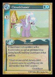 My Little Pony Cloudchaser GenCon CCG Card