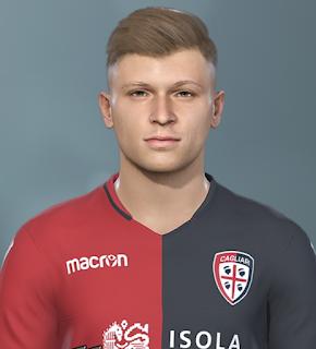 PES 2019 Faces Nicolò Barella by Prince Hamiz