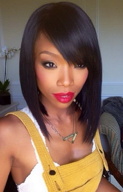 Sensational 8 Simple But Beautiful Weave Hairstyles For Black Women Hairstylo Short Hairstyles Gunalazisus