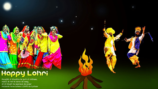 {**Top #100+**} Whatsapp, Facebook, Twitter Status Of Happy Lohri 2017 - Latest Lohri 2017 Status in Hindi & Punjabi