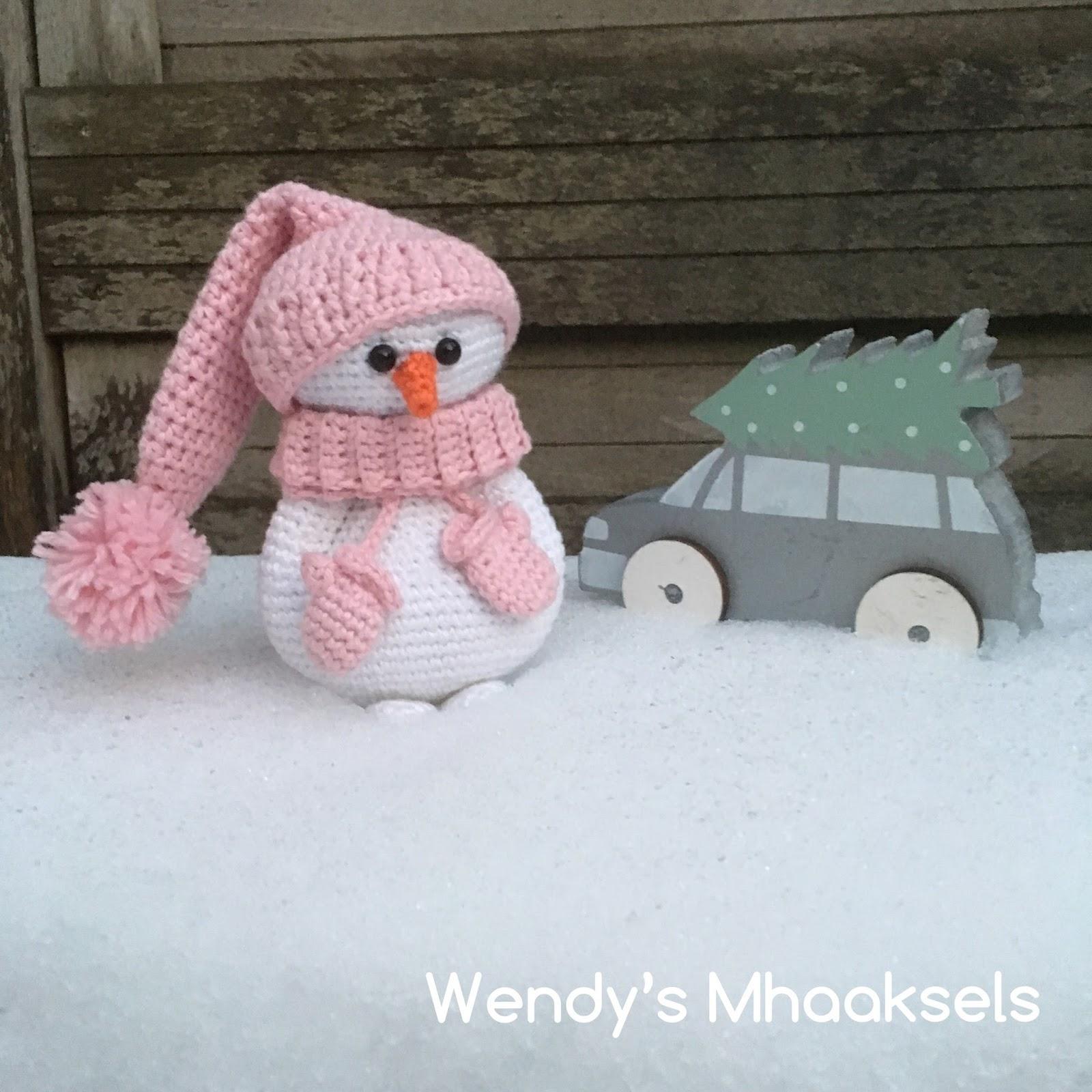 Wendys Mhaaksels Koukleumpje Sneeuwpop Snowman