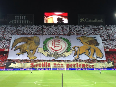 Tifo Sevilla Nos Pertenece