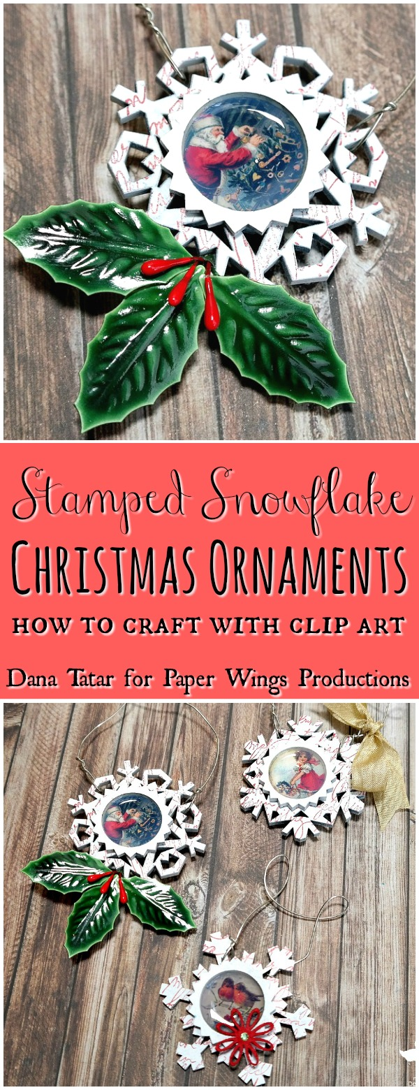 Stamped-Snowflake-Christmas-Ornament-Tutorial-by-Dana-Tatar-for-Paper-Wings-Productions