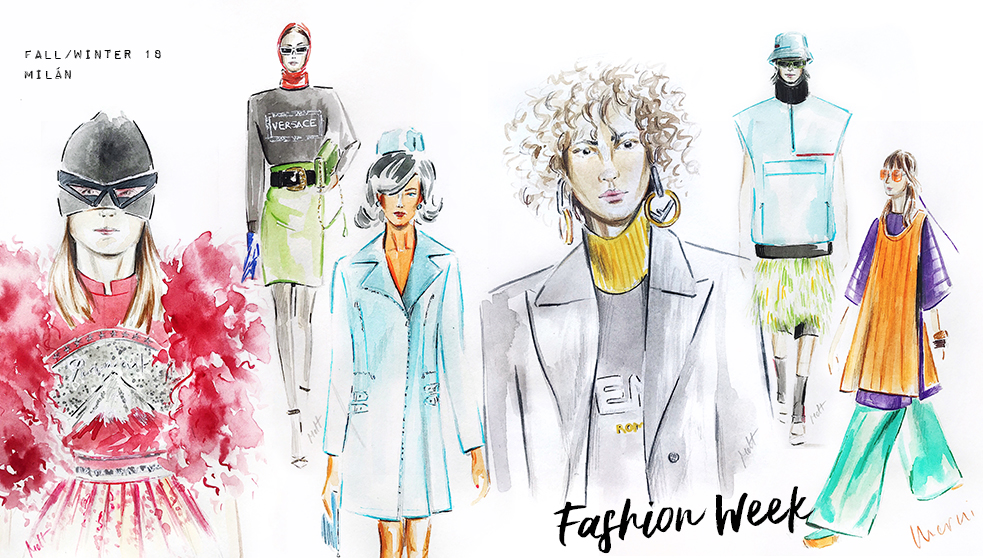 milan fashion week sketchbook
