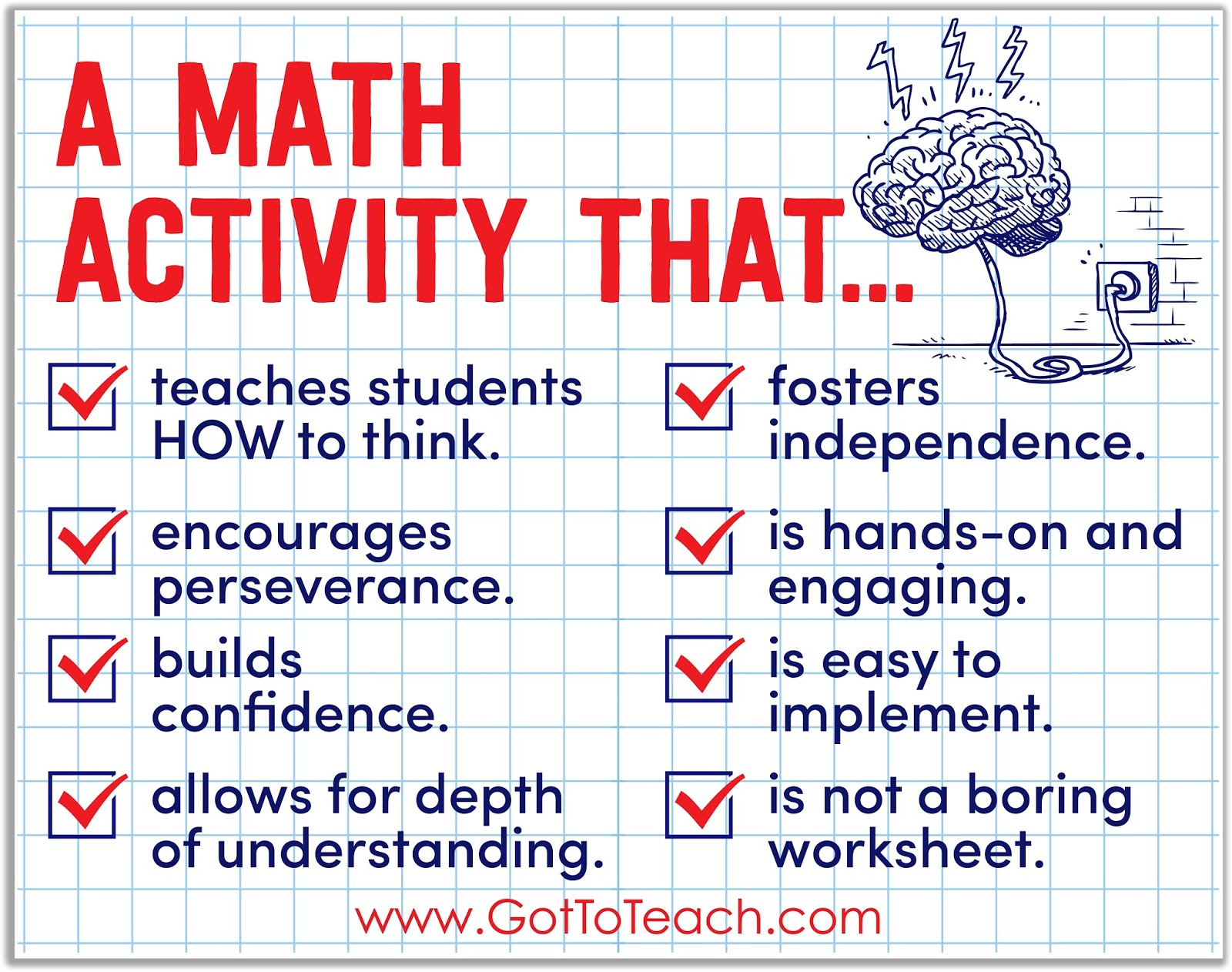 My Favorite Math Activity Got To Teach