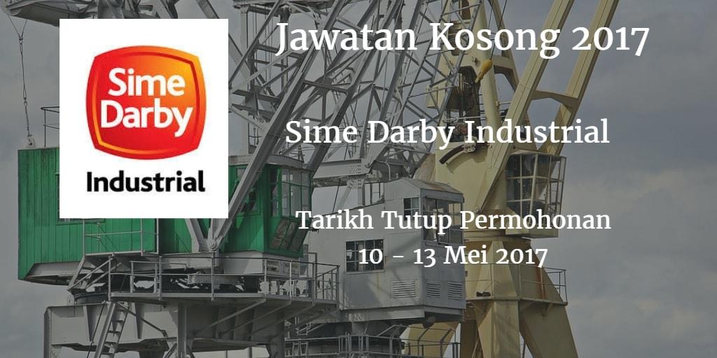 Jawatan Kosong Sime Darby Industrial 10- 13 Mei 2017