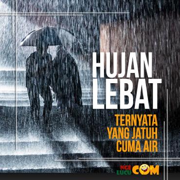 DP BBM Lagi Hujan Deras